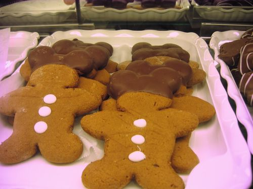 Mickey Gingerbread